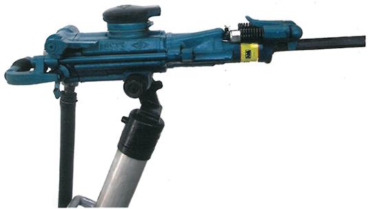 ZY24M系列双级气腿凿岩机