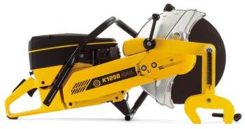 K1250内燃钢轨锯轨机