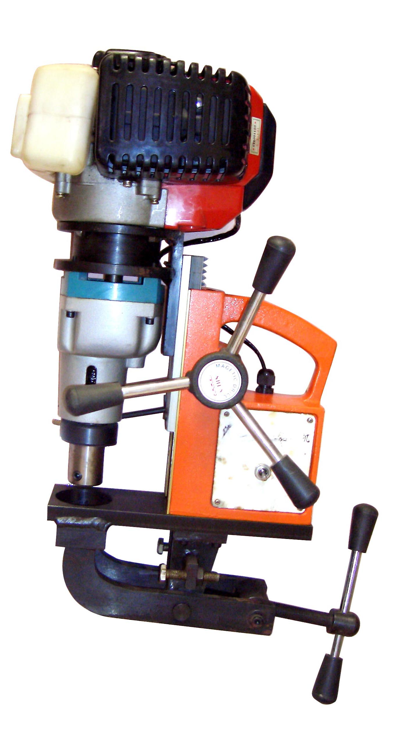 QG9035型汽油钢轨钻孔机