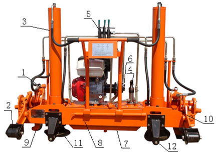 YQJ-300型液压起道机