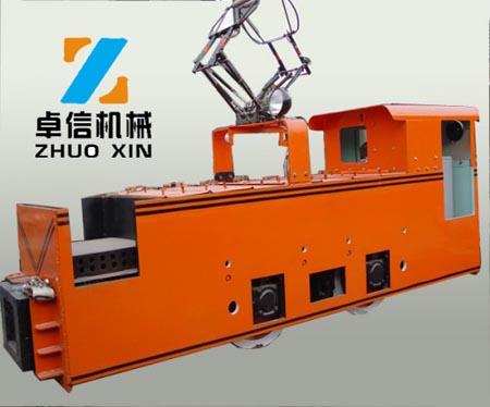 ZK7窄轨架线式电机车