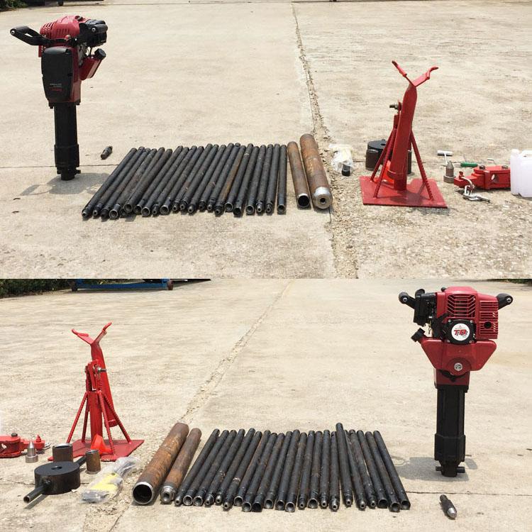 小型便携式取土钻机