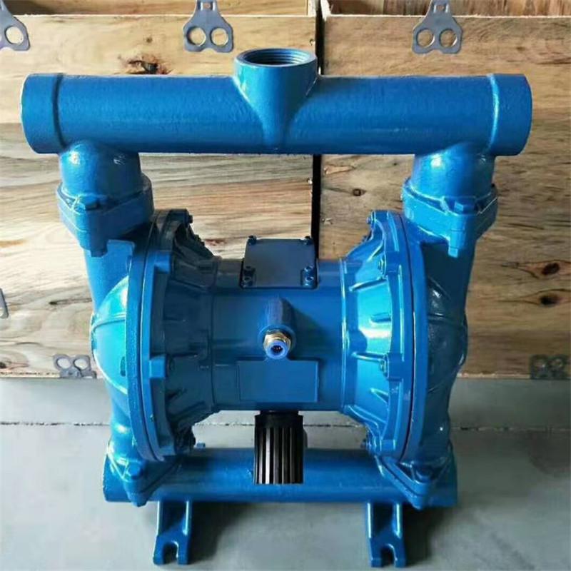 不锈钢气动隔膜泵304材质、QBY-25仿进