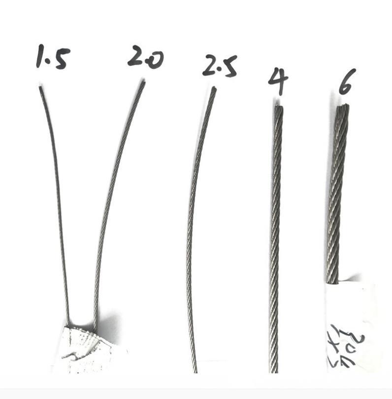 矿用钢丝绳规格、钢丝绳工作视频、耐高